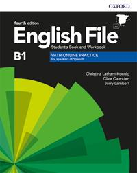 ENGLISH FILE 4TH EDITION B1. STUDENT'S BOOK AND WORKBOOK WITH KEY PACK | 9780194058063 | LATHAM-KOENIG, CHRISTINA/OXENDEN, CLIVE/LAMBERT, JERRY | Llibreria La Gralla | Llibreria online de Granollers